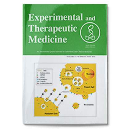 Experimental and Therapeutic Medicine